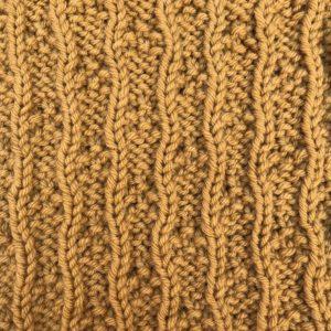 Strickmuster #02 | Dotted Ladder Knit Stitch
