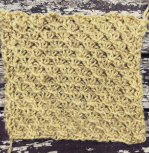Strickmuster #04   Small Quillted Cross Stitch