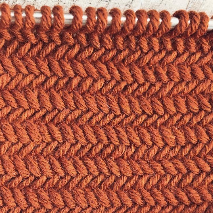 Strickmuster #08 | Herringbone Stitch