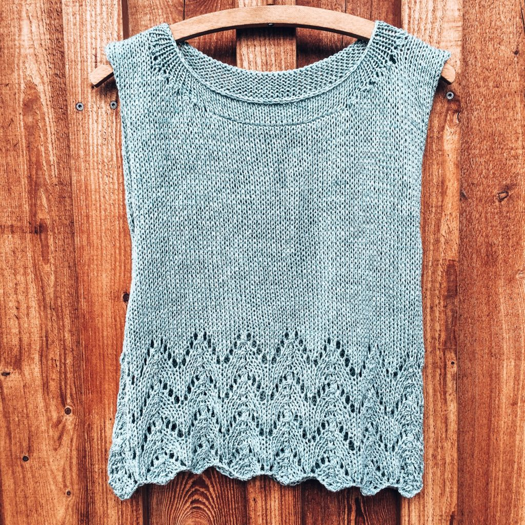 Strickmuster #05 | Horseshoe Lace Stitch