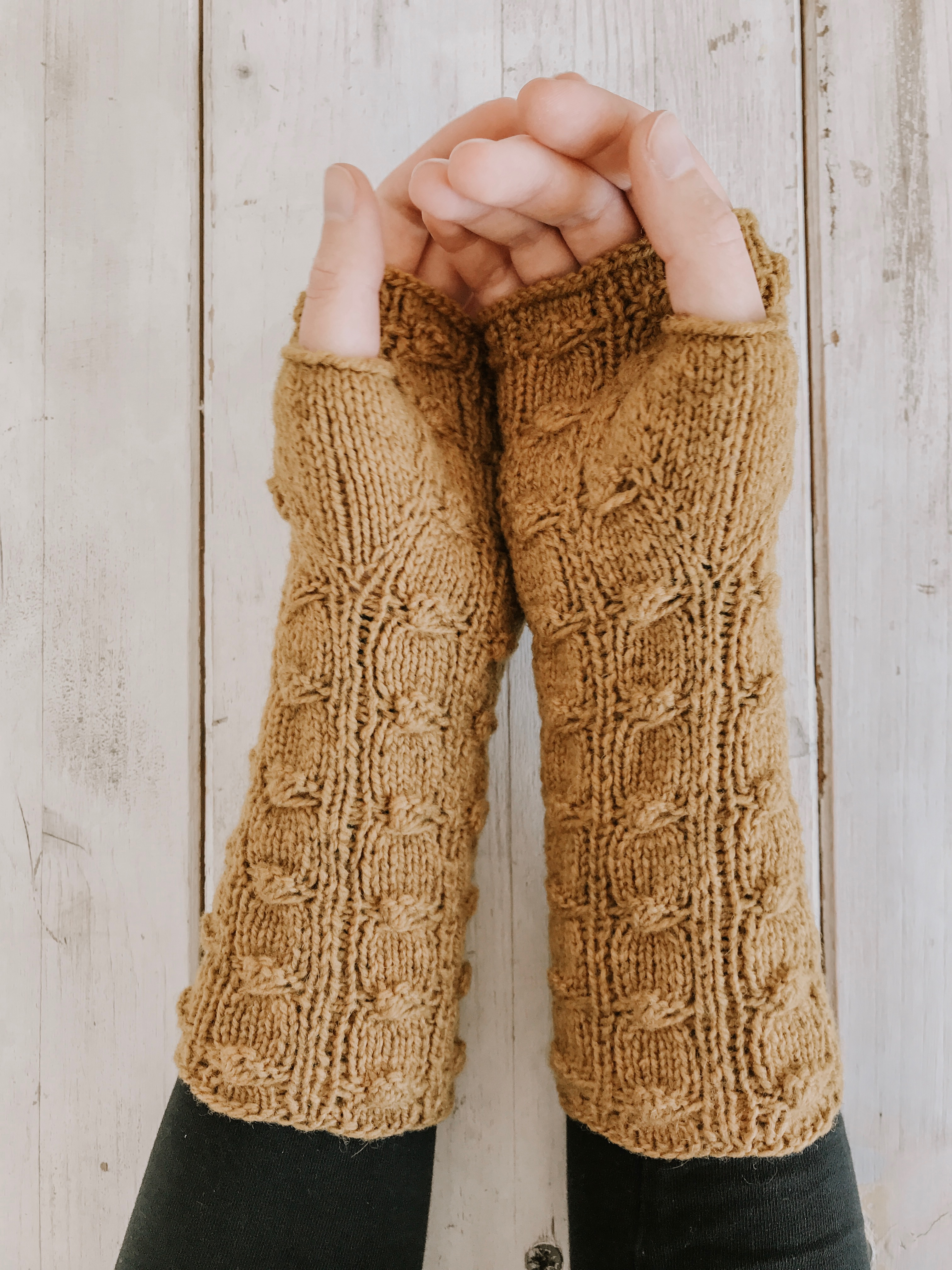 Strickanleitung   Both Sides Mitts