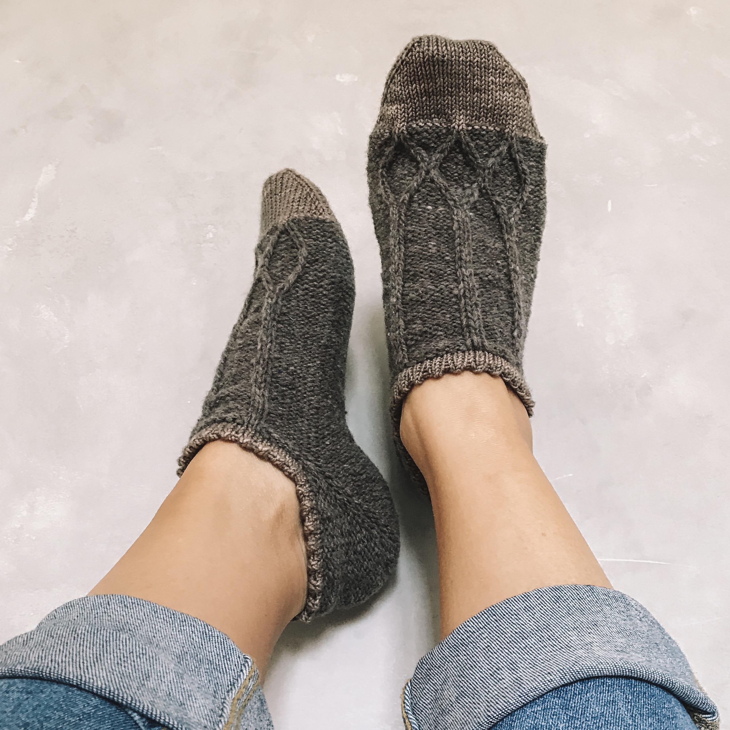 Knitting pattern | Visitor Socks
